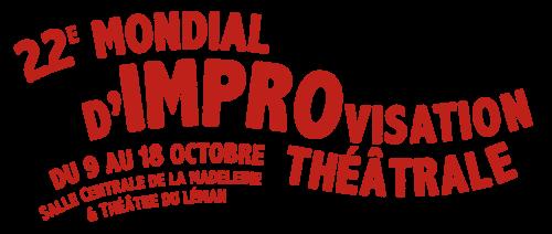 logo mondial d'improvisation à Genève